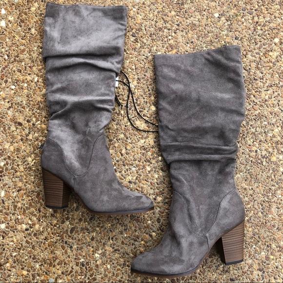 Merona Dina Faux Suede Boots | Poshmark